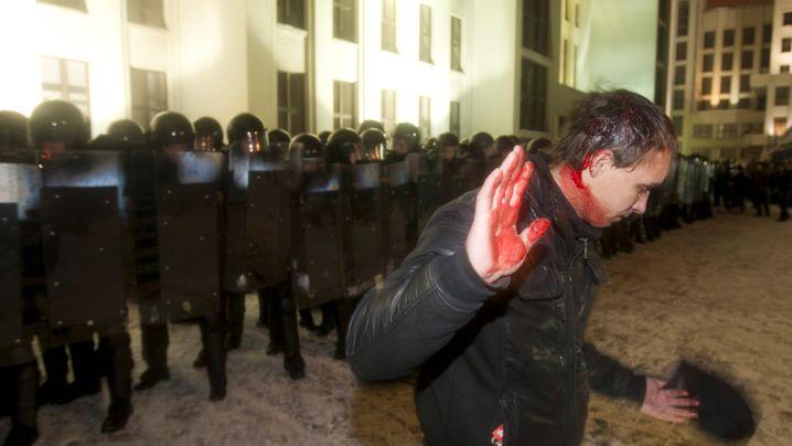 Weißrussland: Ausschreitungen nach Präsidentschaftswahl