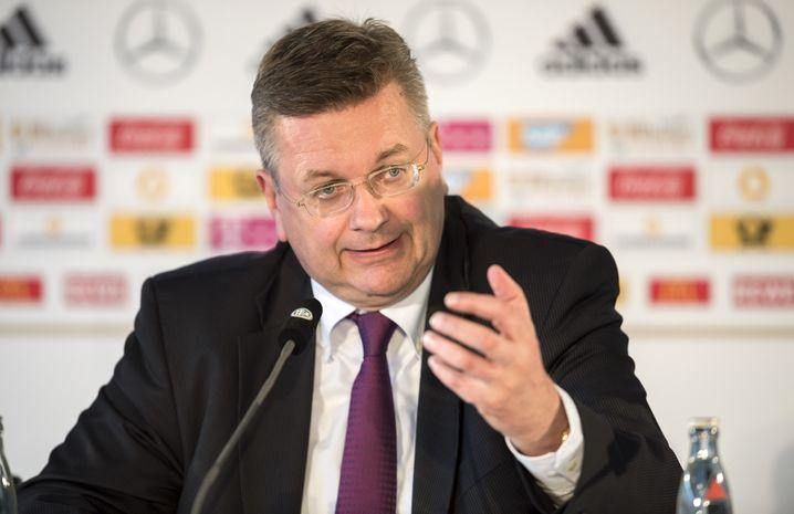 DFB-Präsident Reinhard Grindel