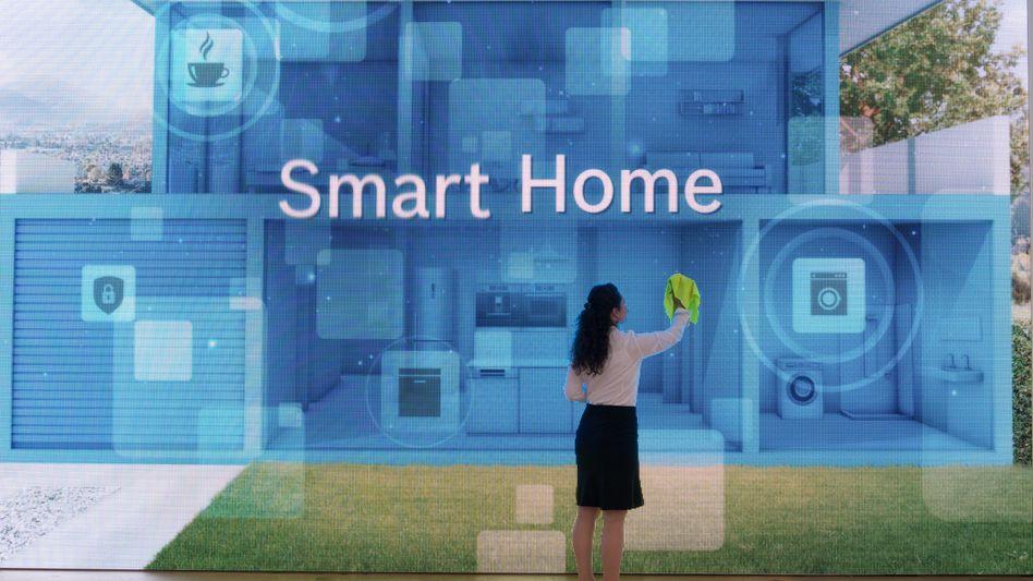 Smart-Home-Stand auf der IFA