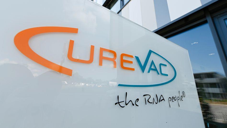Curevac-Zentrale in Tübingen