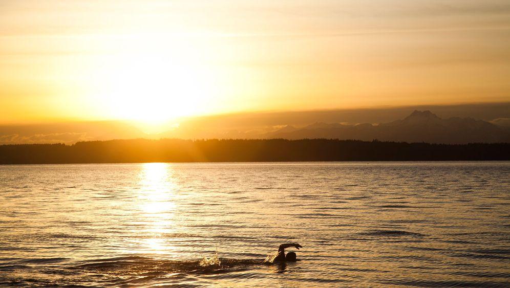 Brasilianischer Männerroman: Schwimmen, rennen, pumpen