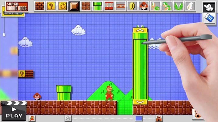 """Mario Maker"": Selbst Mario-Level bauen"