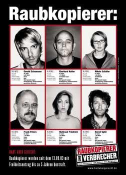 """Kampagne """"Raubkopierer sind Verbrecher"""": Musikbranche wittert böse Absichten"""