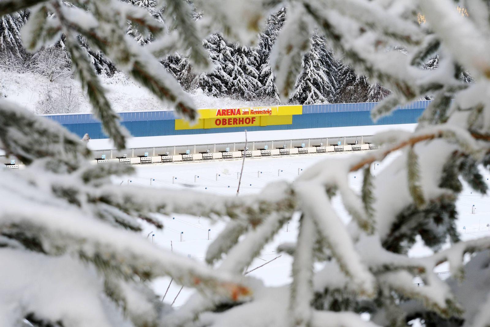 EINMALIGE VERWENDUNG Biathlon / Oberhof