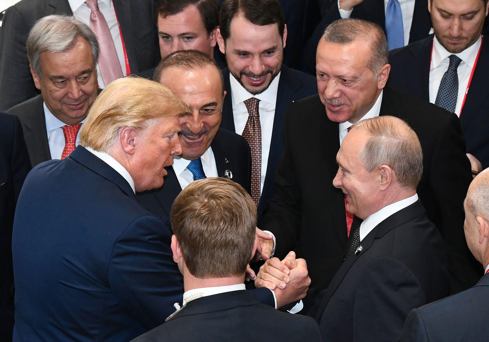 Japan US Russia Turkey