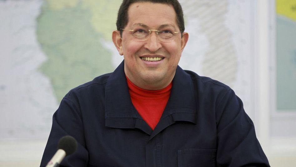 Venezuelas Präsident Chávez: Bösartiger Tumor im Beckenbereich entfernt