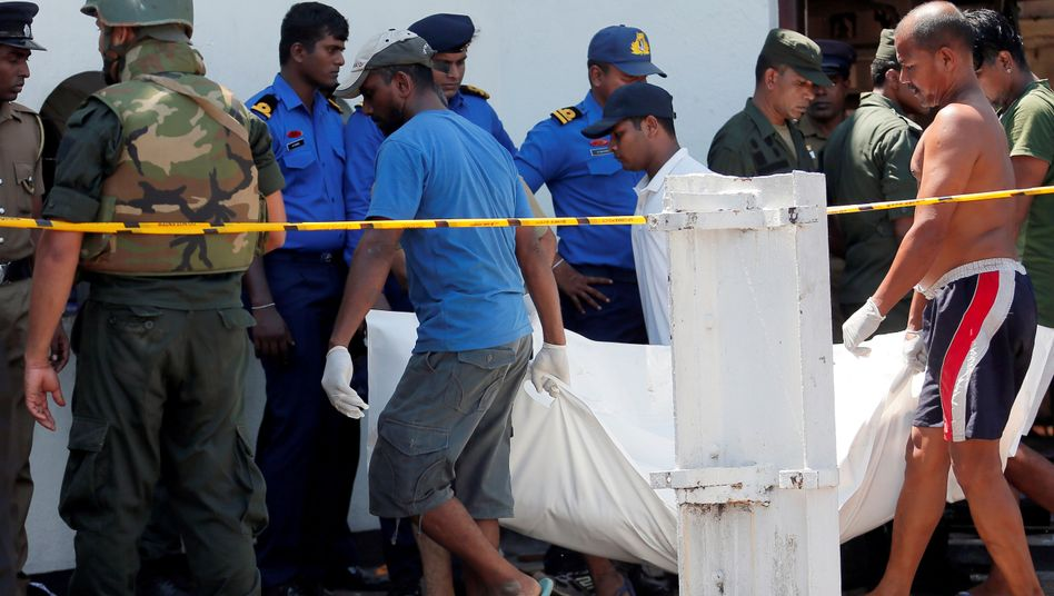 Opfer in Sri Lanka
