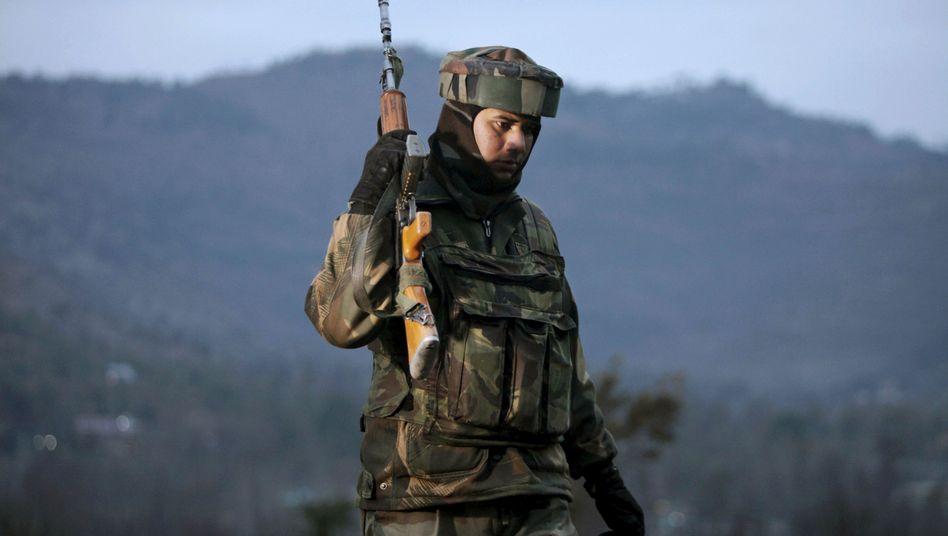 Indischer Soldat in Kaschmir: Von der Bevölkerung als Besatzer empfunden
