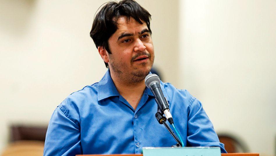 Ruhollah Zam (im Juni 2020): Der regierungskritische Journalist und Blogger wurde am Samstag in Iran hingerichtet