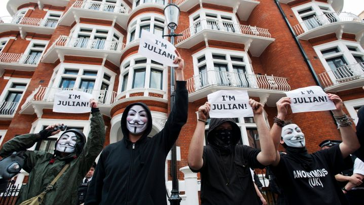 Ecuador gegen Großbritannien: Nervenkrieg um Assange