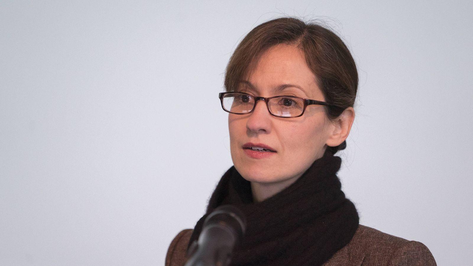 Dr Paula Diehl Politikwissenschaftlerin Dr Paula Diehl referiert am Zentrum f¸r interdisziplin?re