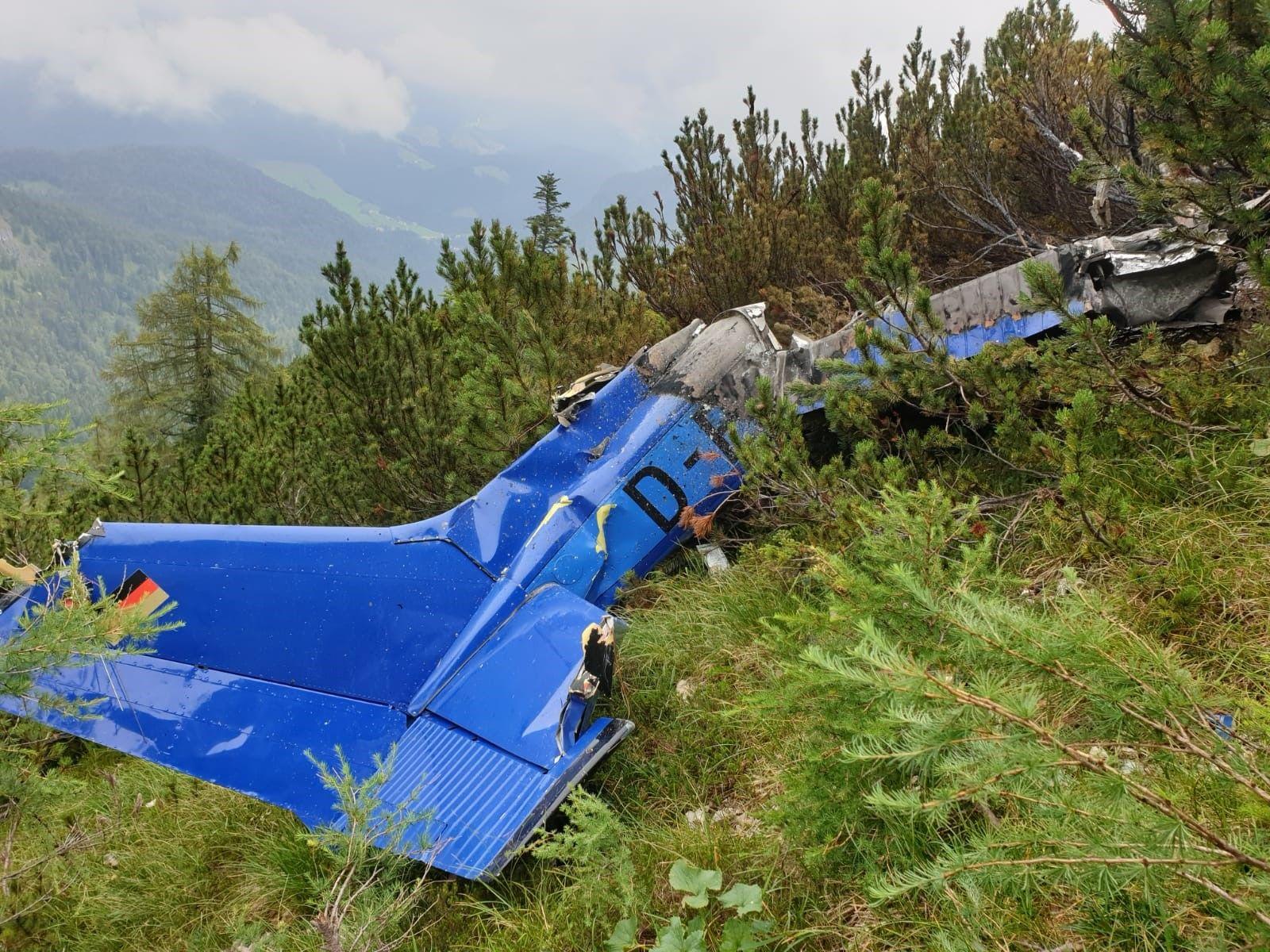Kleinflugzeug Absturz Bayern