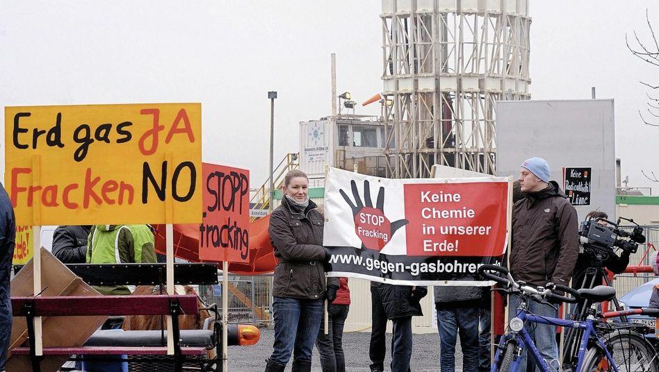 Anti-Fracking-Protest 2011(*): »Die Schöpfung bewahren«