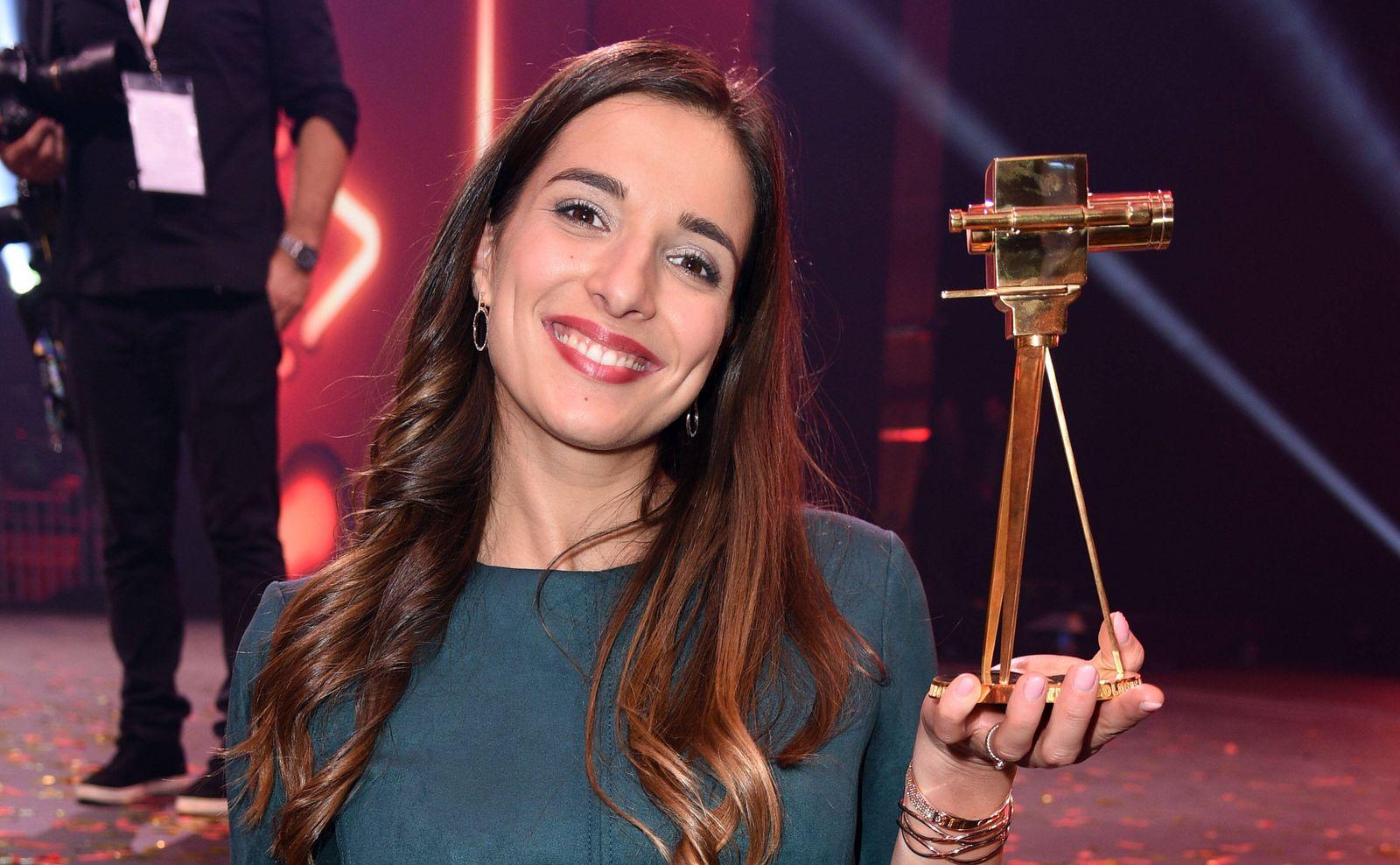 Saliha Oezcan (Sallys Welt) bei den YouTube Goldene Kamera Digital Awards im Kraftwerk in Berlin am 26.09.2019 *** Salih