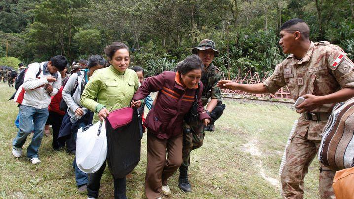 Peru: Überschwemmungen am Machu Picchu