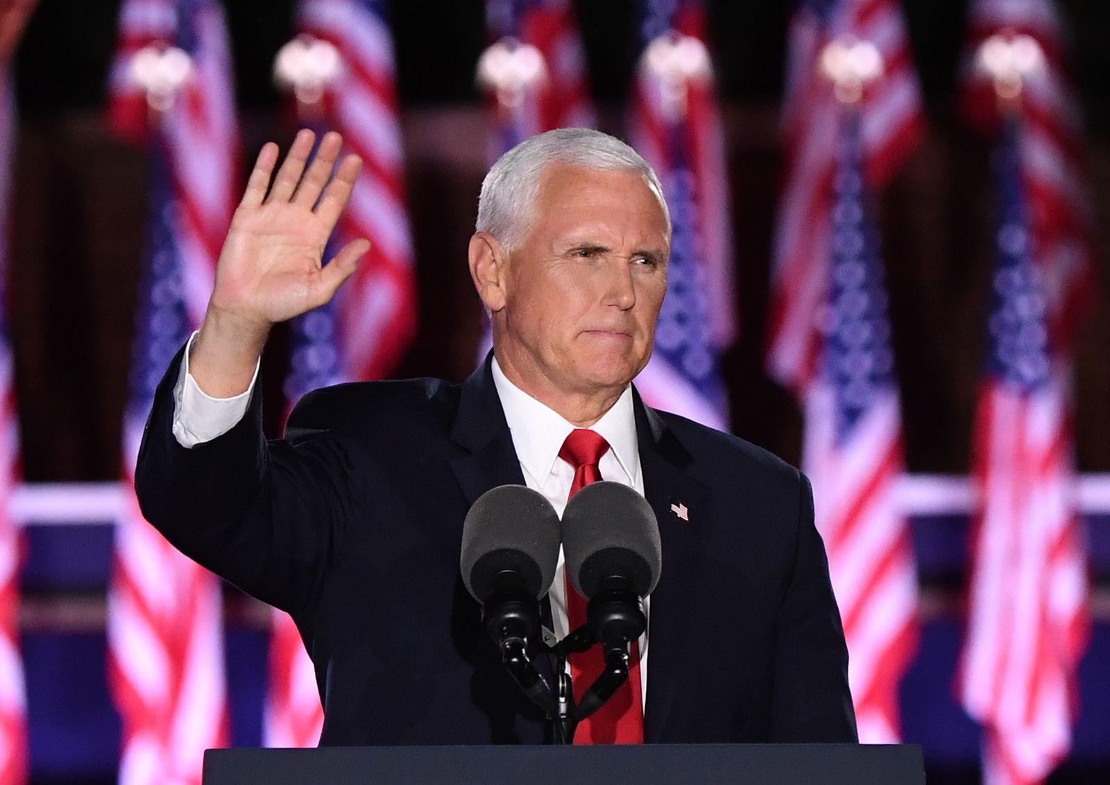 Virtual Republican National Convention in USA, Baltimore - 26 Aug 2020