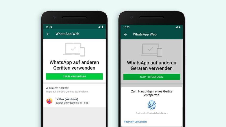 Die neue Nutzeridentifizierung per Biometrie auf einem Android-Handy