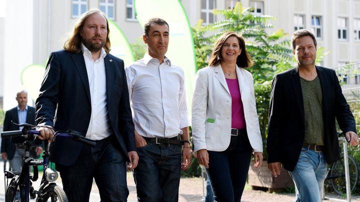 Grünen-Urwahl: Vier Bewerber - wer sie sind, was sie wollen