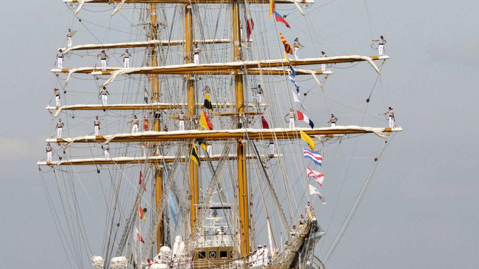 """Argentinisches Segelschiff """"Libertad"""": Seit 50 Jahren unterwegs"""