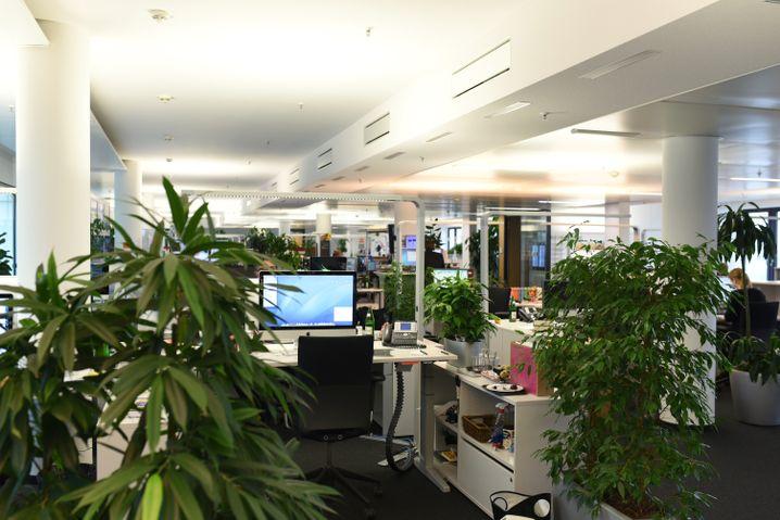 Newsroom von SPIEGEL ONLINE in Hamburg