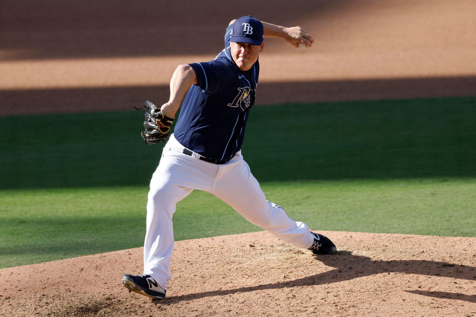 Houston Astros at Tampa Bay Rays, San Diego, USA - 12 Oct 2020