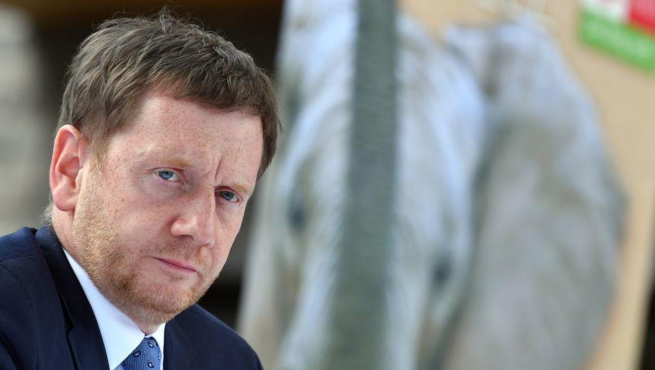 """Sachsens Ministerpräsident Michael Kretschmer (CDU): """"Ich sperre mich nicht dagegen, unsere Lage kritisch zu hinterfragen"""""""
