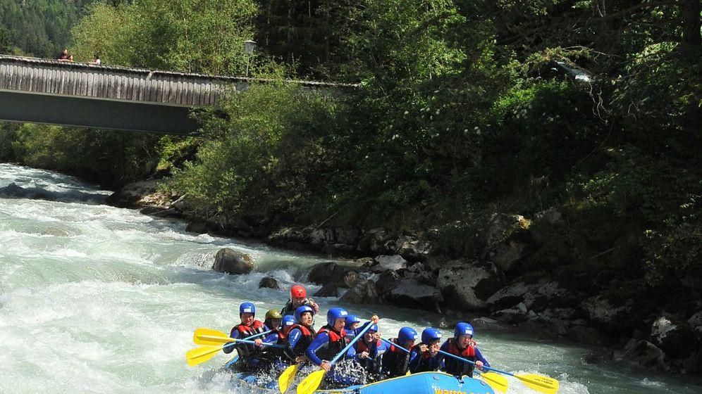 Wildwassertour: Abenteuer Imster Schlucht