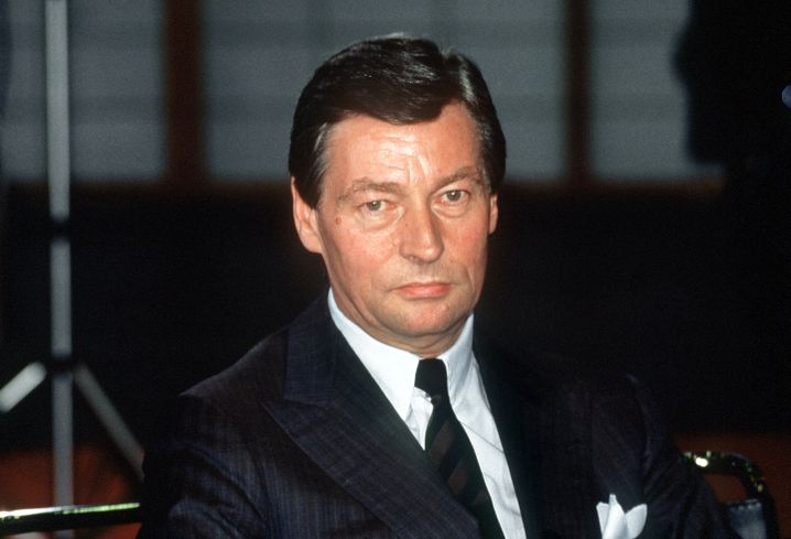 Alfred Herrhausen 1987