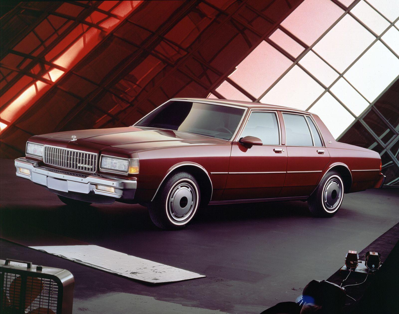 EINMALIGE VERWENDUNG Chevrolet Caprice/ 1988 Classic Brougham