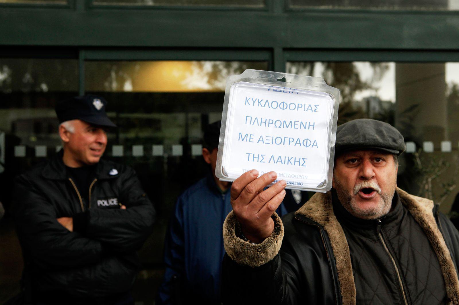 Zypern / Finanzkrise / Protest