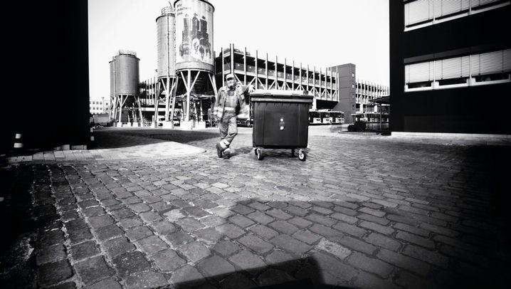 Müllmänner als Fotografen: Schwarzweißbilder aus der Tonne