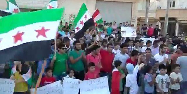 Syrische Oppositionelle in Aleppo (im Juli 2012): NSA wollte Komplettzugriff und sorgte für Totalausfall