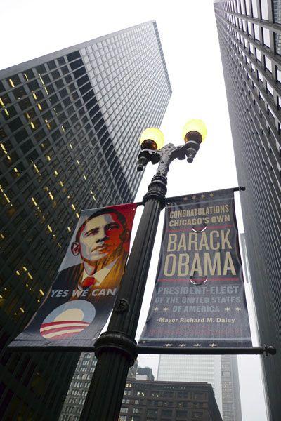 Büro von Obamas Übergangsteam in Chicago: Bewerberandrang für 8000 Jobs