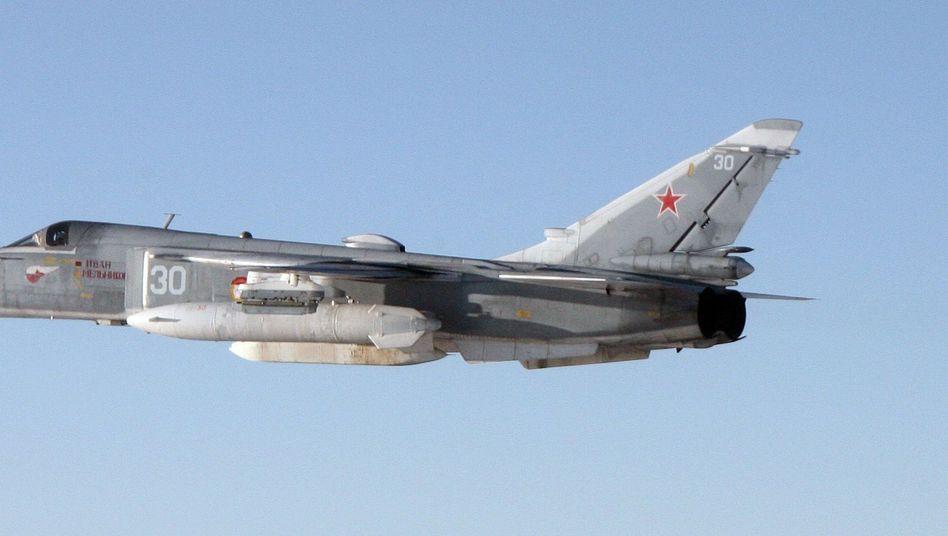 Russische Sukhoi Su-24 (Archivbild)