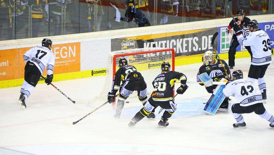 Krefeld Pinguins gegen die Nürnberg Ice Tigers
