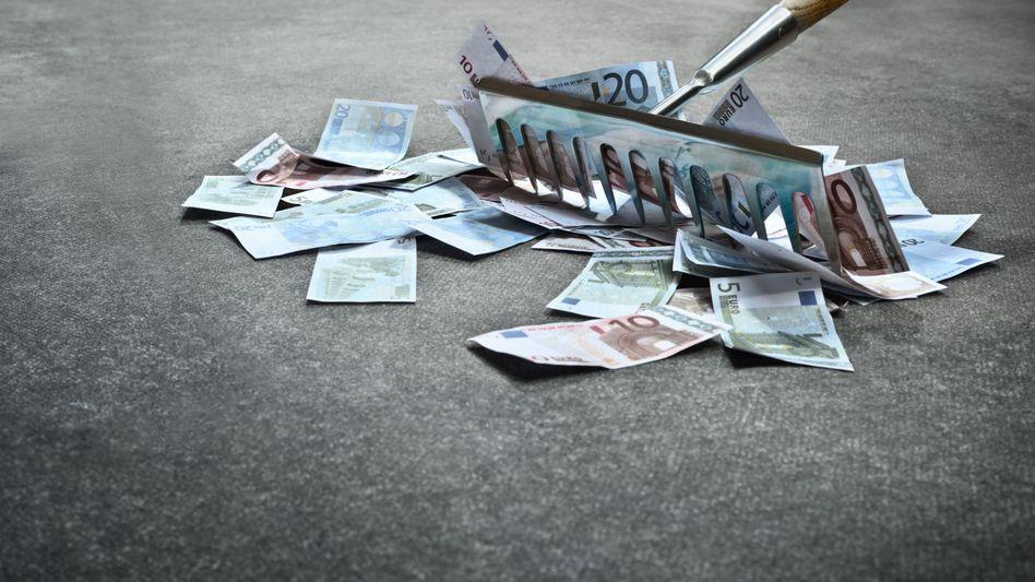 Geldscheine (Symbolbild): Bezahlen ohne Spuren