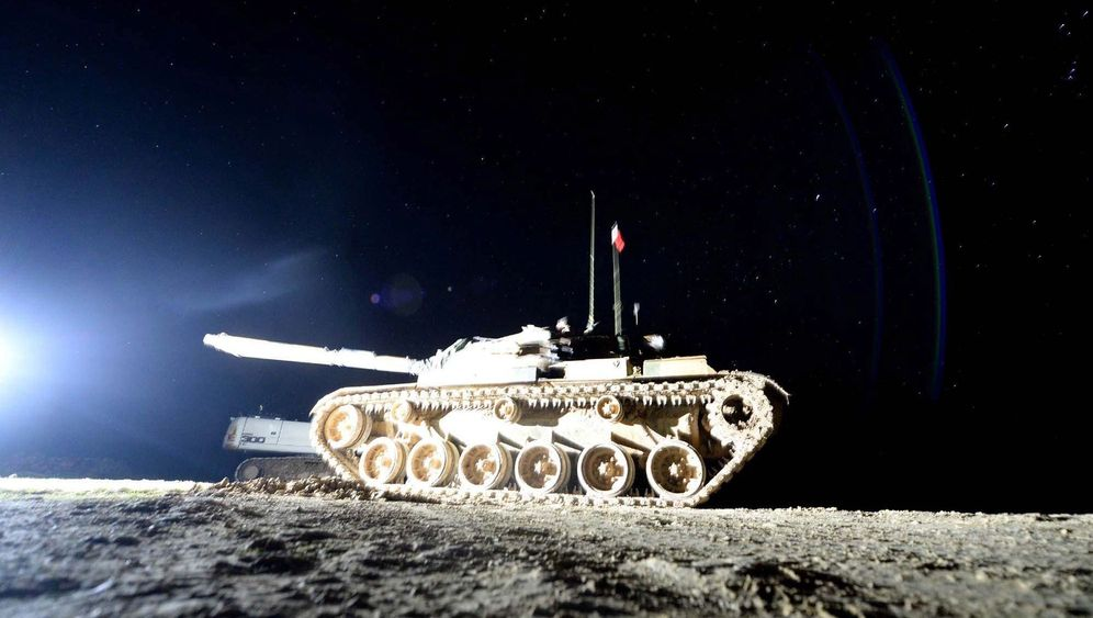 Türkische Armee: Nächtlicher Einsatz in Syrien