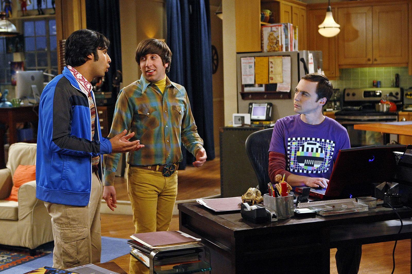 EINMALIGE VERWENDUNG Big Bang Theory
