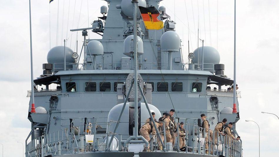 """Deutsche Fregatte """"Schleswig-Holstein"""": Uni Kiel entwickelt Radartechnik zur marinen Terrorabwehr"""