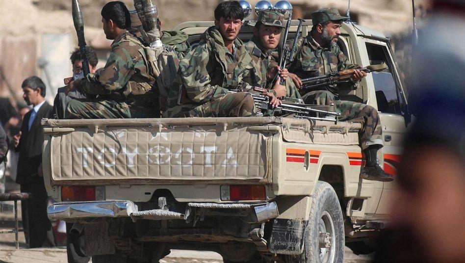 Afghanische Miliz in Masar-i-Scharif (Archivbild): Jenseits der staatlichen Kontrolle