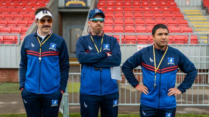 Gute Stimmung, aber keine guten Ergebnisse: Das Trainerteam der »Greyhounds« aus Richmond