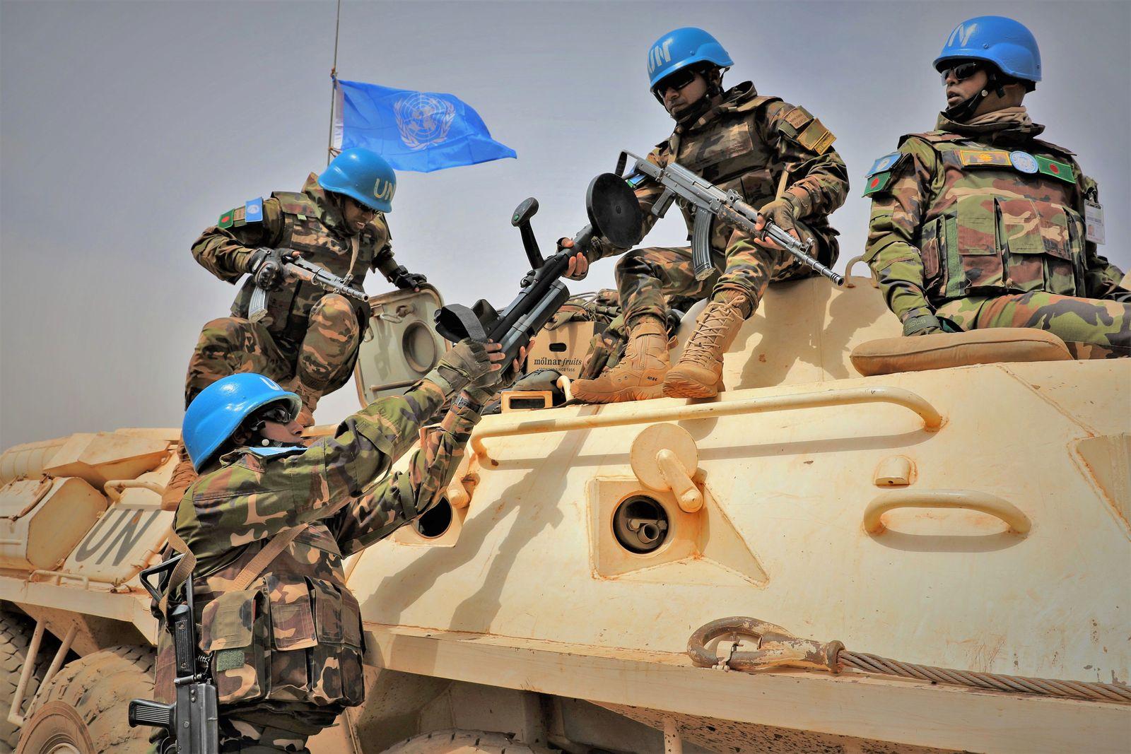 Mali/ Blauhelme