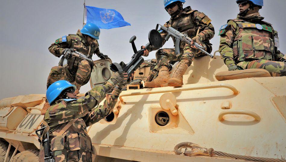 Blauhelmsoldaten in Mali: Die Uno-Stabilisierungsmission Minusma gilt als der gefährlichste Einsatz der Bundeswehr