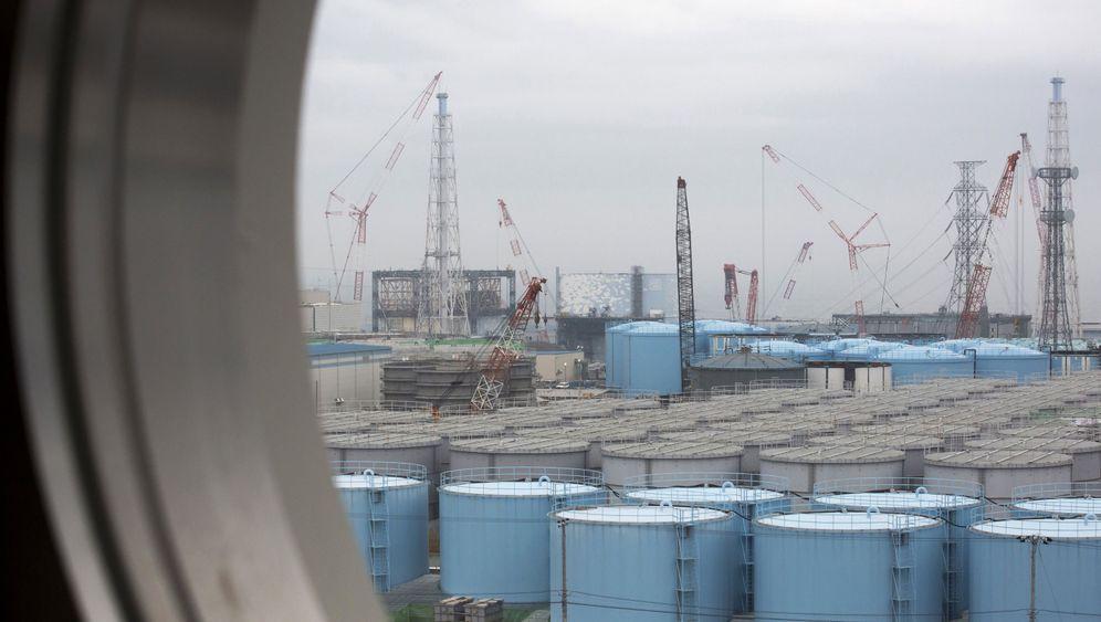 Atomruine Fukushima: Kontaminierte Wassermassen