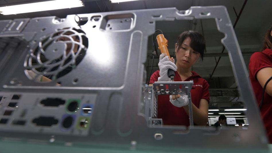 Foxconn-Fabrik in China (Archivbild)