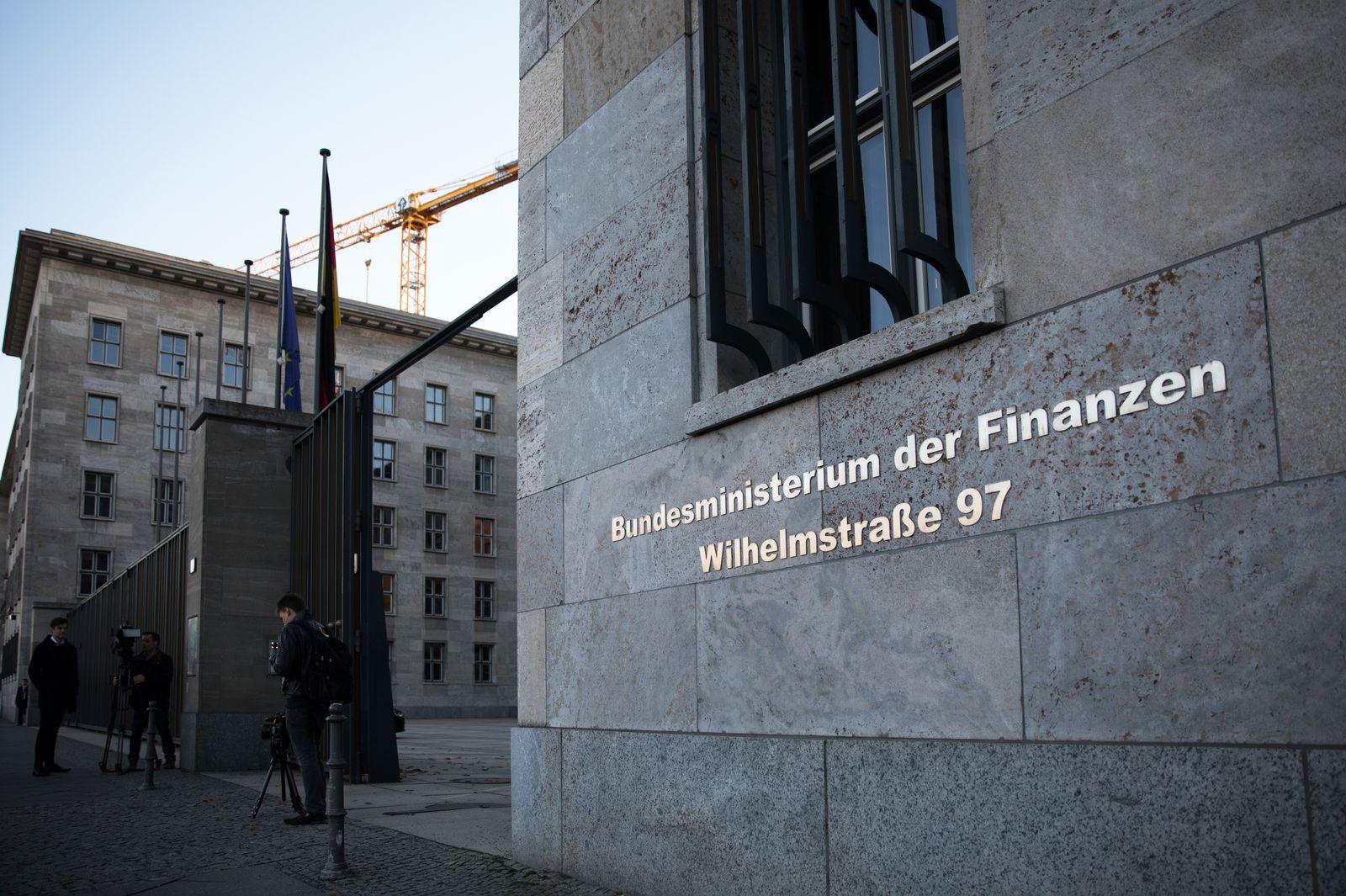 Bundesministeriums der Finanzen / Bundesfinanzministerium / fFinanzministerium