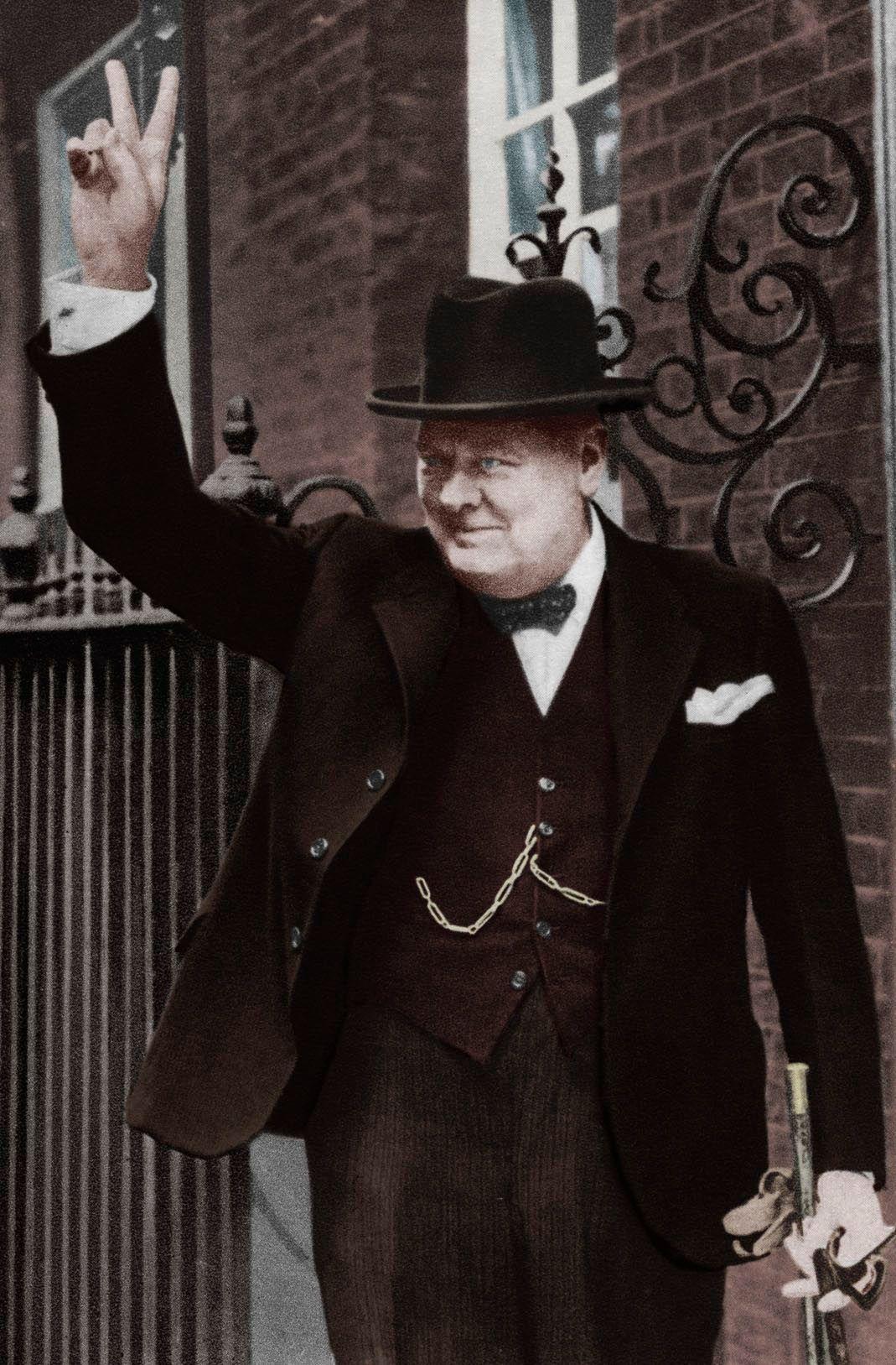 Winston Churchill - portrait