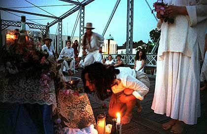 """Voodoo-Ritual in New Orleans: Beschwörung """"dunkler Geister"""""""