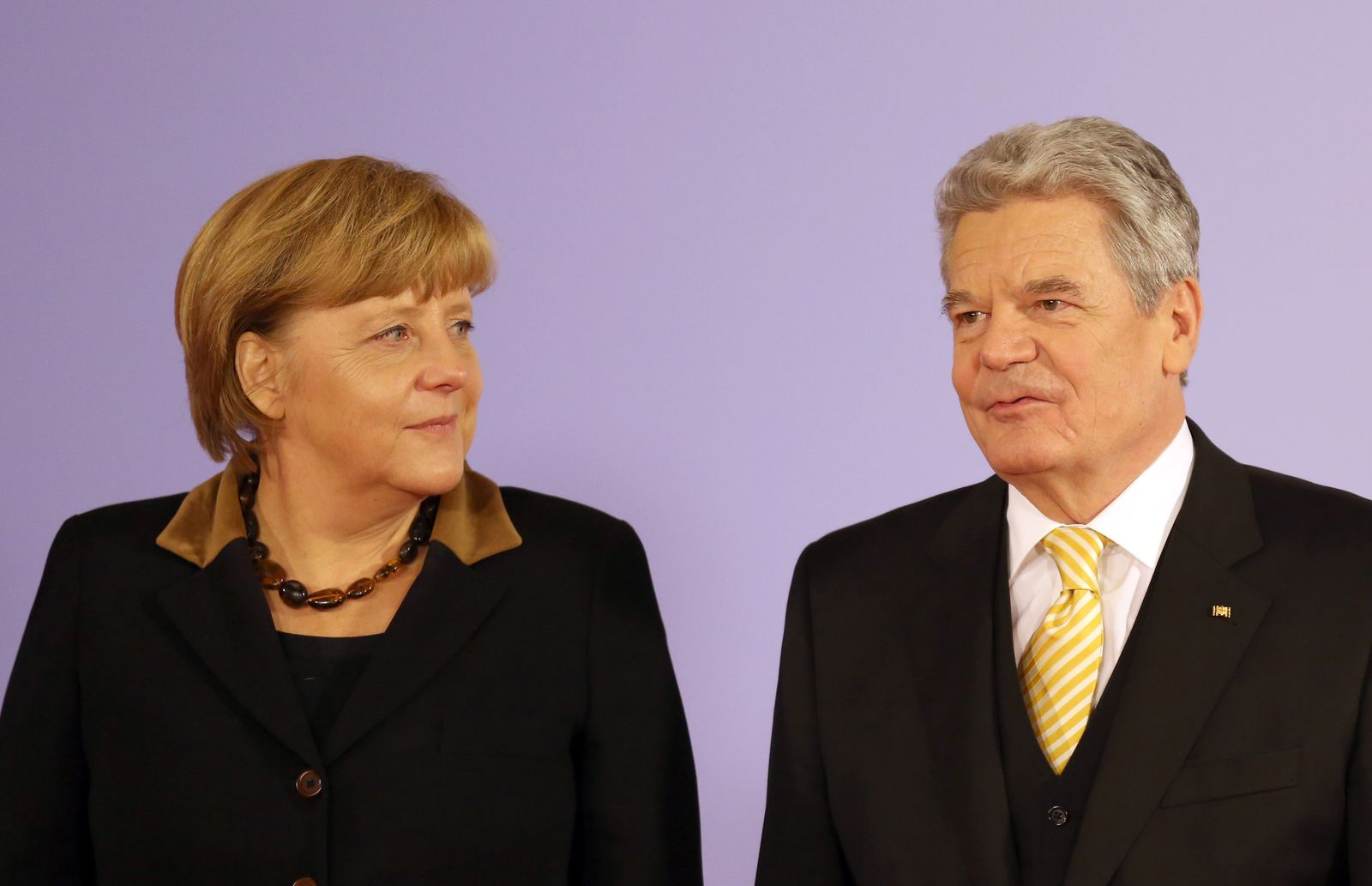 Merkel / Gauck