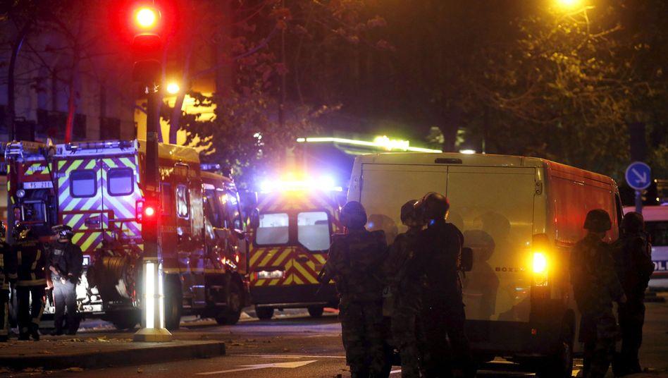 Explosionen, Schüsse und Geiselnahme: Terror in Paris